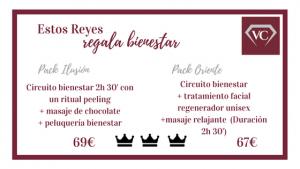 Packs Bienestar Reyes 2018- Verónica Castillo